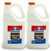 Elmers Liquidelmer's 1 Gall School Glue, Great For Making Slime, White, Washable