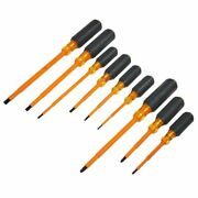 Klein Tools 9 Piece Insulated Screwdriver Set With Case
