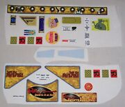 Stern Ripley's Believe It Or Not Pinball Machine Playfield Decal Set Nos