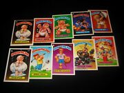 Garbage Pail Kids - 1986 6th Series Complete Numerical Set - 88 Cards Ex Run Os6