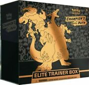 Pokemon Tcg Championand039s Path Elite Trainer Box Sealed 10 Booster Packs In Stock