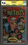 New Mutants 87 Cgc 9.6 Newsstand Ss Simonson Liefeld 1st Cable 1425593008