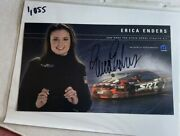 Signed Erica Enders 2006 Pro Stock Dodge Stratus Nhra Photo Card 6 X 10 N 1055