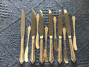 Reed And Barton Sterling Silver Flatware Set 40 Pc.