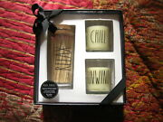 Rae Dunn 2019 Scented Candle +safety Matcheseucalyptusrelax Chill Unwindnew