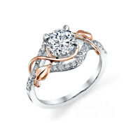 Womenand039s Round Cut 0.75 Ct Real Diamond Engagement Ring 950 Platinum Size 5 6 7