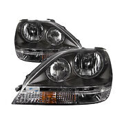 Fits Newmar Montain Aire 37ft 2005-2006 Rv Left And Right Headlights Pair