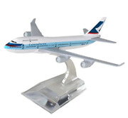 Cathay Pacific Boeing 747 Metal Commercial Plane Miniature Collection Figure