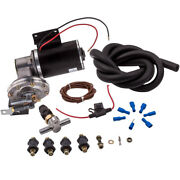 12 Volt Electrical Power Brake Booster Vacuum Pump W/pressure Switch 18 To 22