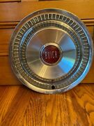 1955 1956 Buick Special 15 Hubcap Vintage Antique Red Ctr 55 56 Oem Wheel Cover