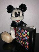 Le Dooney And Bourke 10th Anniversary Magic Band And Mickey Mouse Sequin Plush