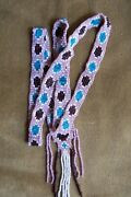 Native American Indian Bead Work. Dance Necklace Loom Style
