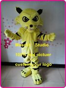 Wildcat Mascot Costume Suit Cosplay Party Game Dress Outfit Halloween Adult 2019