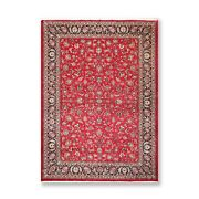8andrsquo3 X 11andrsquo10 Hand Knotted Wool 250 Kpsi Authentic Oriental Area Rug Red/navy