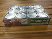 Ball Regular Mouth Canning Mason Jars Quilted Crystal Glass Jelly Jar 4oz 12/box