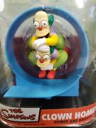 The Simpsons Mcfarlane Clown Homer And Krusty Clown Action Figure New Sealed