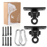 Mdairc Swing Set Brackets, Heavy Duty Swing Hangers For Wooden Sets Playground P