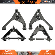 Fits Dodge Dakota 2000-2004 Front Upper And Lower Lh Rh Control Arms And Ball Joints