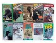 Vhs Video Tapes Lot Of 10 Animal Lovers Documentary Movie Loons Caribou Zoo Life