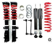 Rs-r Black-i Japan Coilovers Lowering Adjustable Coils For 2007-2016 Mazda 2 New