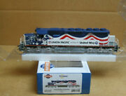 Athearn 71629 Ho Union Pacific/united Way Sd40-2 3300. Dcc + Sound Equipped