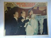 Fredric March/death Takes A Holiday/up23 / 1934 Lobby Card