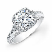 Solid 14k White Gold 1.52 Carat Natural Diamond Beautiful Rings Size L M N O P Q