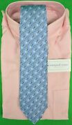 Vineyard Vines For Dc Rod And Gun Society Silk Tie New W/ Tag