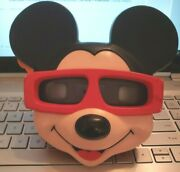 Rare Disney Mickey Mouse Head Face Model View-master Viewer 3d View Finder