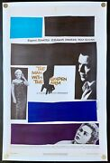 The Man With The Golden Arm 1955 Original Movie Poster Linen Backed C9 Near Mint