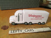 Walgreens Tractor Trailer White Soft Tk For Stress Releif Souvenir-used-stock2