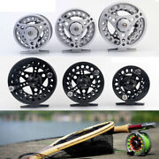 Fly Fishing Reel Aluminum Alloy Body 1/2 3/4, 5/6, 7/8 Weights Black