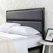 Queen Size Headboard Metal Headboards For Queen Beds With Padded Upholstery