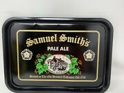 Vintage Samuel Smithandrsquos Old Brewery Pale Ale Beer Serving Tray 16 1/2andrdquox11 3/4andrdquo