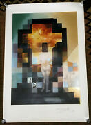 A Reproduction Of The Iconic Lincoln In Dalivision By Salvador Dali Limited Ed