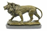 Handmade Antoine French 1796-1875 Vintage Reproduction Bronze Walking Signed
