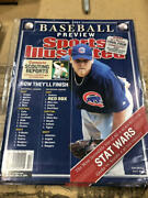 April 5, 2004 Kerry Wood Cubs Sports Illustrated No Label W/ Schilling Flap