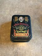 Vintage Old No. 7 Jack Daniels Tennessee Whiskey Tin Box Container Metal