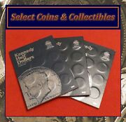Complete Set Kennedy Pandd Half Dollar Coins, 1964-2019 W/ 3 Albums And 1970d No-585