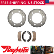 Rear Kit Brake Drums And Brake Shoes For 2012 Isuzu Reach - Raybestos