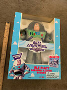Toy Story Electronic Talking Buzz Lightyear Thinkway 1995 New Factory Sealed