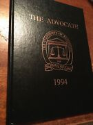 1994 Ole Miss University Of Mississippi School Of Law Yearbook Annual