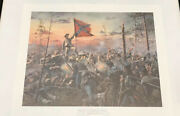 Don Troiani - The Southern Cross- Hand Signed - Framed Historical Art Print