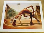 Kadir Nelsonand039s One On One Limited Edition New Sold Out Sports Coa