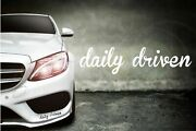 Stickercorp - Daily Driven - Car Window Decal Vinyl Sticker