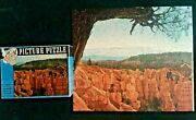 Vintage 1957 Guild Whitman Jigsaw Puzzle Bryce Canyon 304 Pc. Complete 1760 S