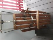 Vintage Pre1800and039s Wood Sled