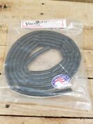 Hot Rod Hood Lacing Seal 39/64 Wide X 23/64 Thick X 8and039 Long - Half Round Shape