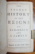 1690 The Secret History Of The Reigns Of King Charles Ii And King James Ii