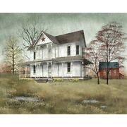 New Billy Jacobs April Showers Farmhouse Barn Rain Wall Hanging Picture